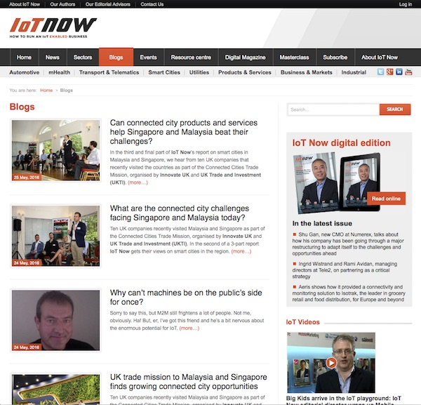 IoT Now BlogsIoT Now Blogs