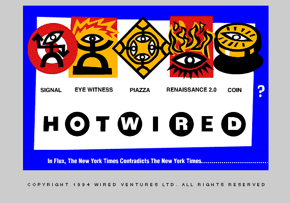 HotWired, 1994.
