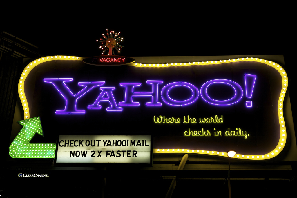 Yahoo - Photo Scott Schiller.