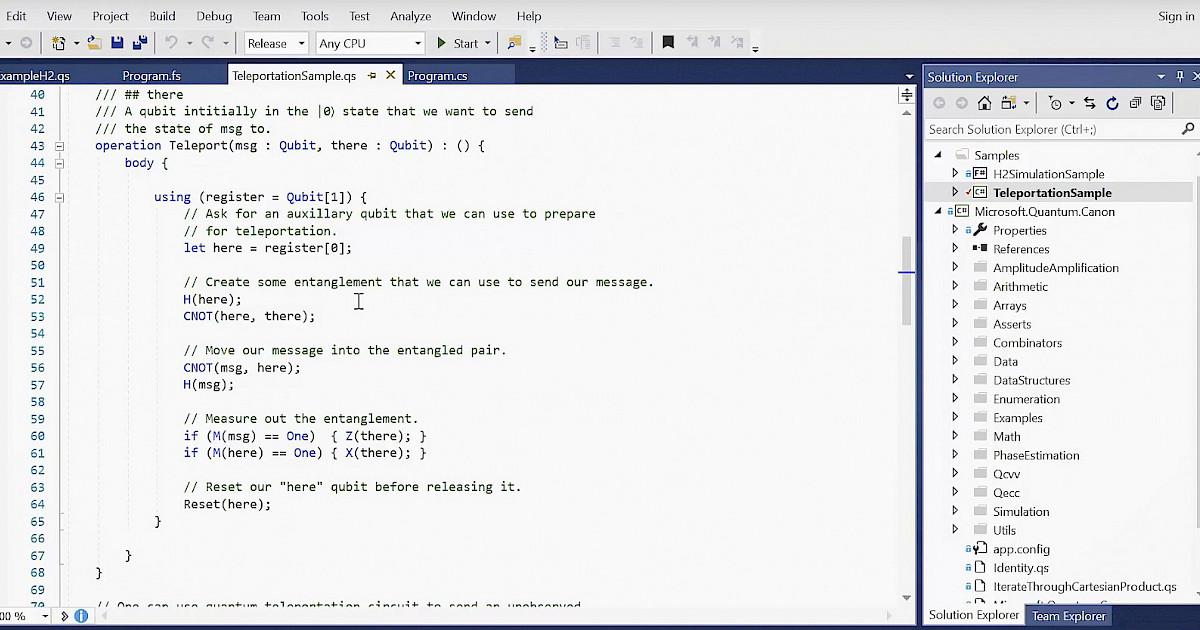 Q# programming language | Blog | Spiria