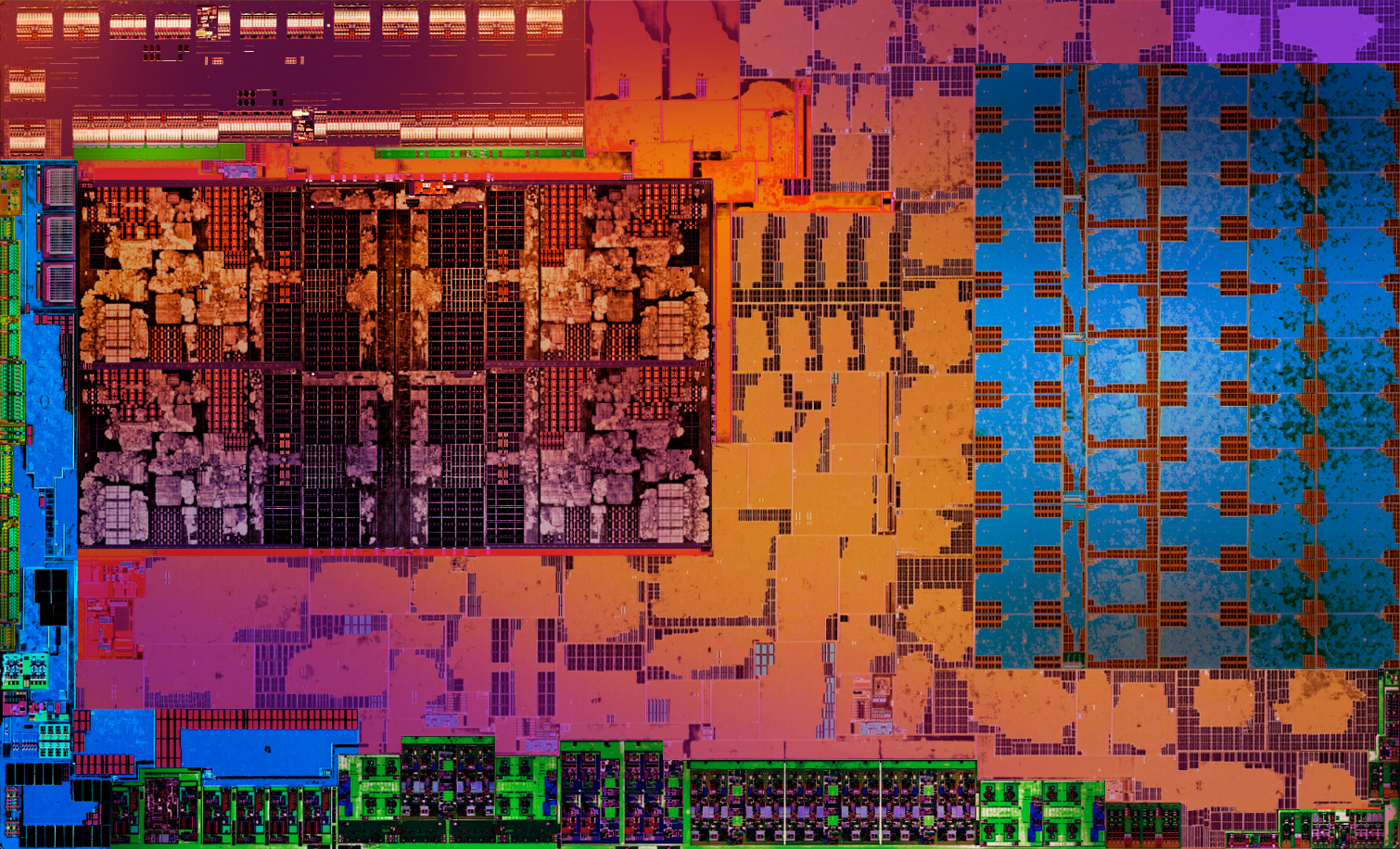 AMD Raven Ridge die.