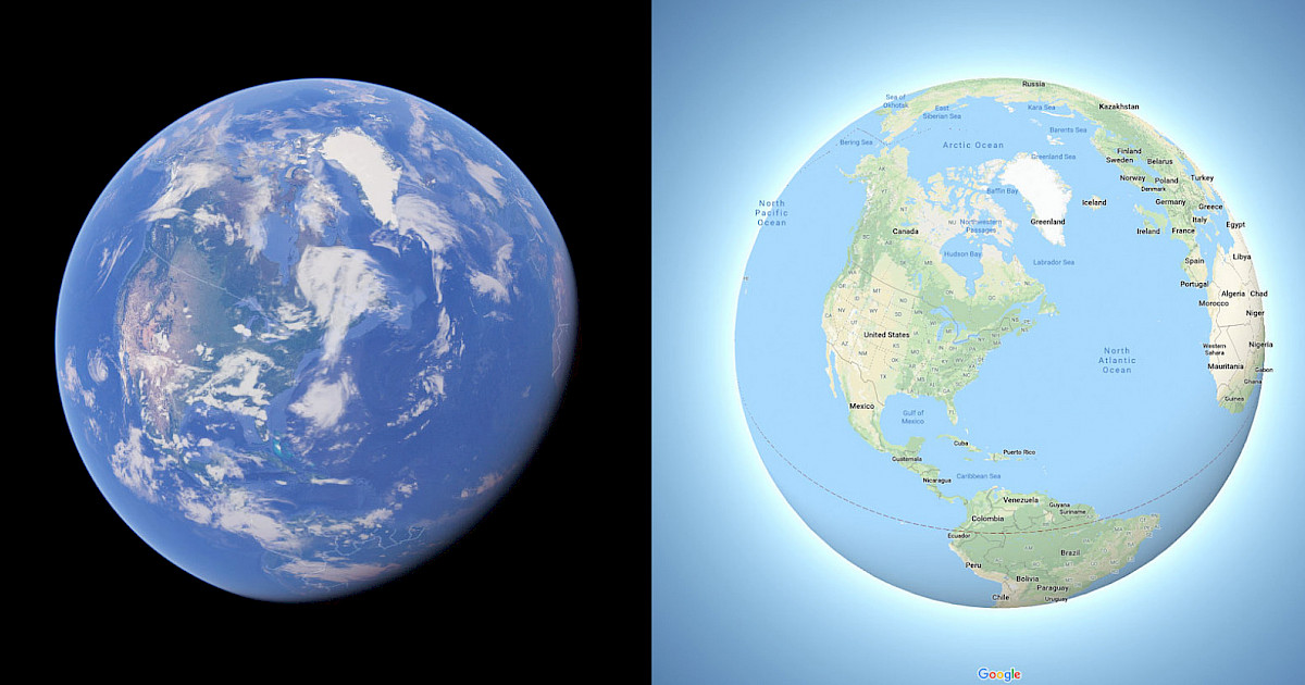 Map Of Germany Google Earth.Earth No Longer Flat In Google Maps Blog Spiria
