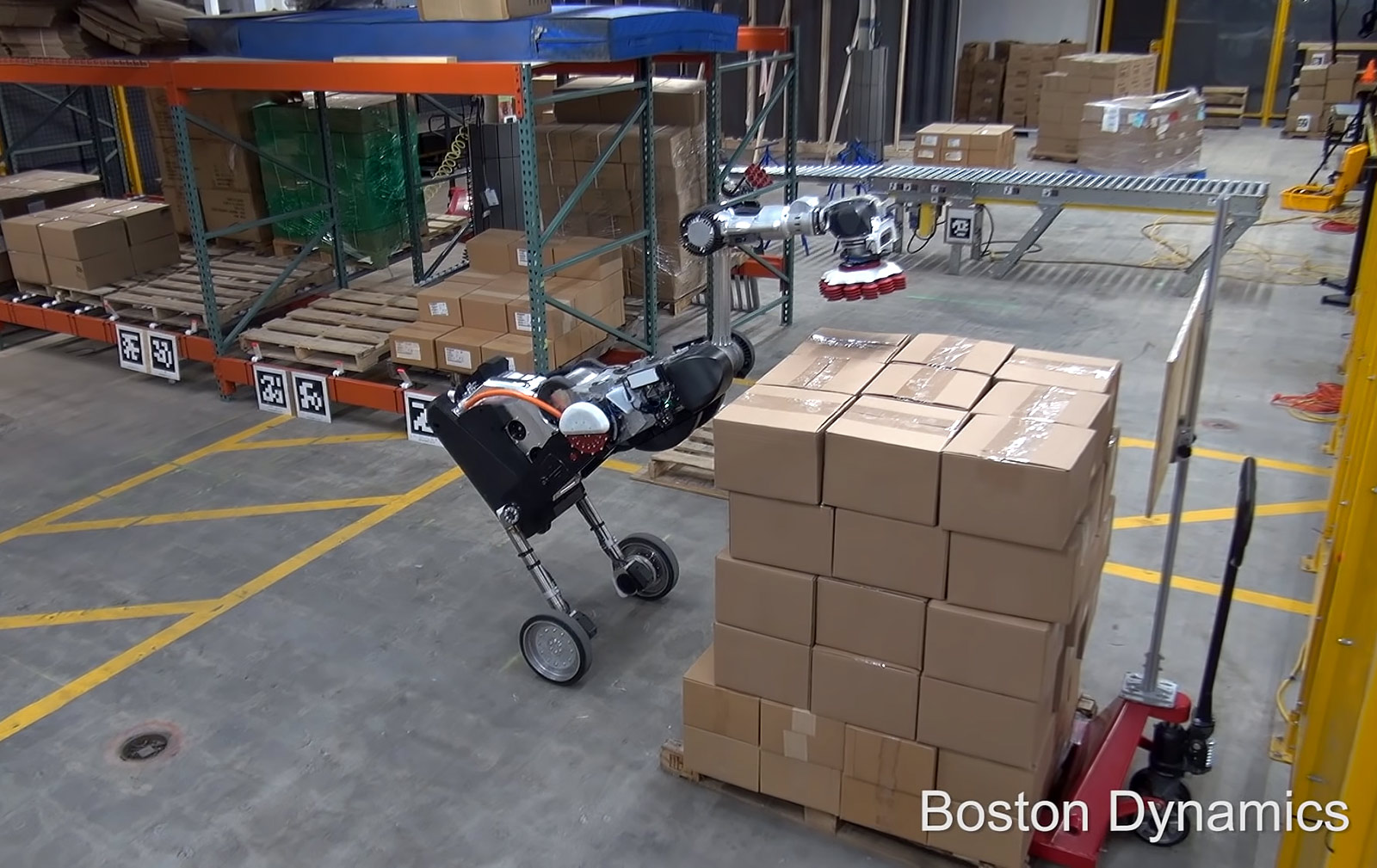 Handle Robot, Boston Dynamics.