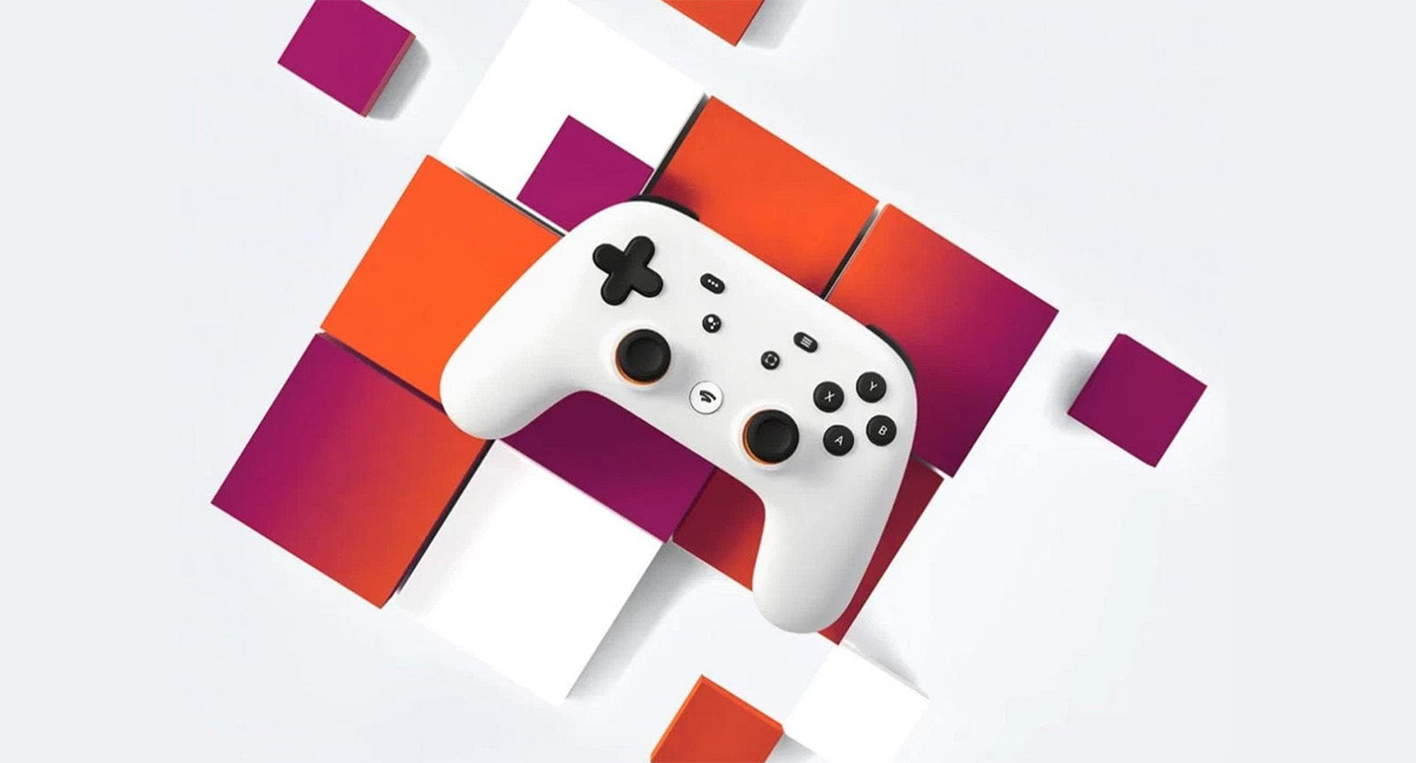 Google Stadia console controller.