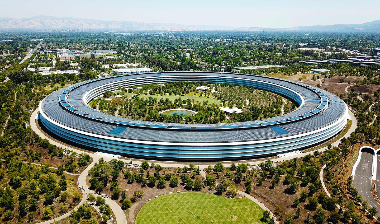 Apple Park, Cupertino.