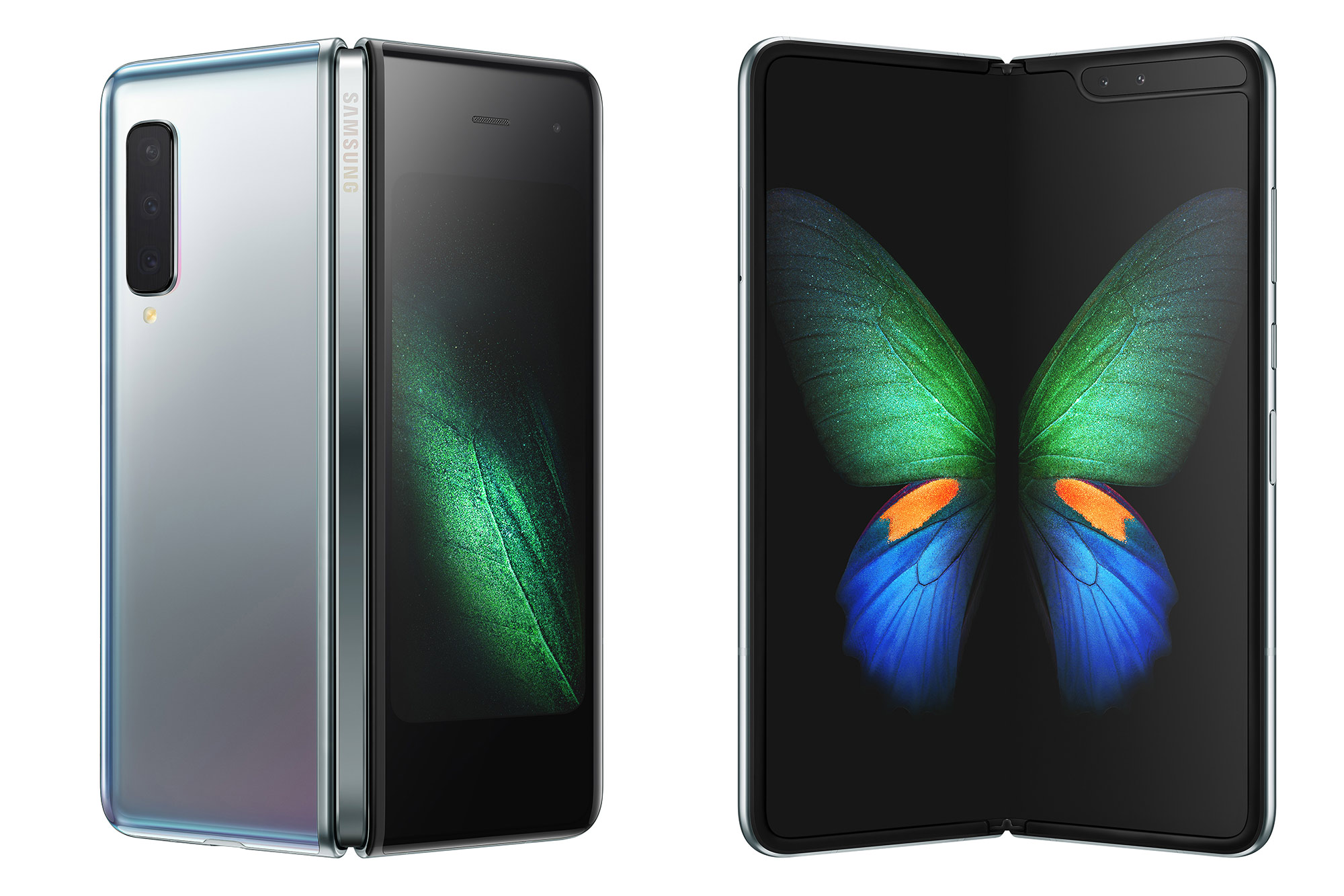 The (new and improved) Galaxy Fold.