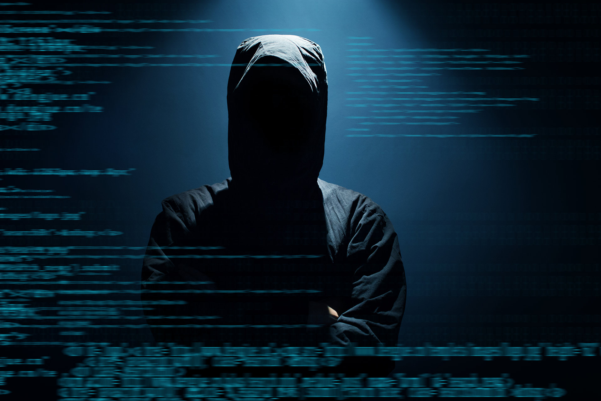 Why do hackers always wear hoodies?