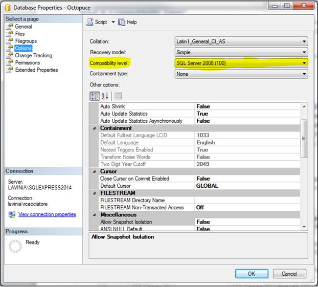 Understanding SQL Server Compatibility Levels | Blog | Spiria